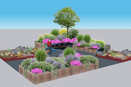 Modularer Park Entwurf